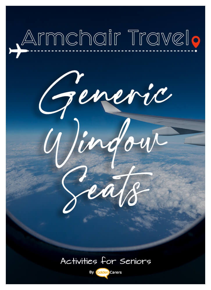 Fabulous window seat print-outs for armchair travel activities!