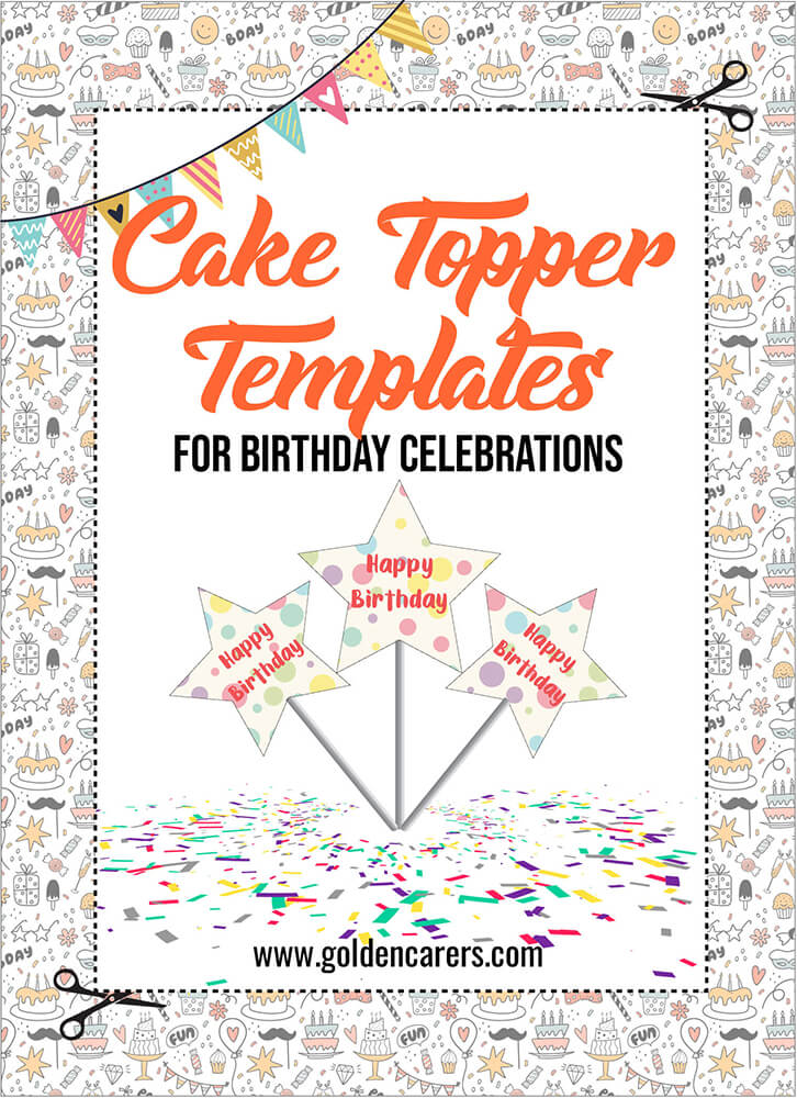 This is from our seriers The Birthday Collection which contains a multitude of templates for you to print-off and use for birthday celebrations!