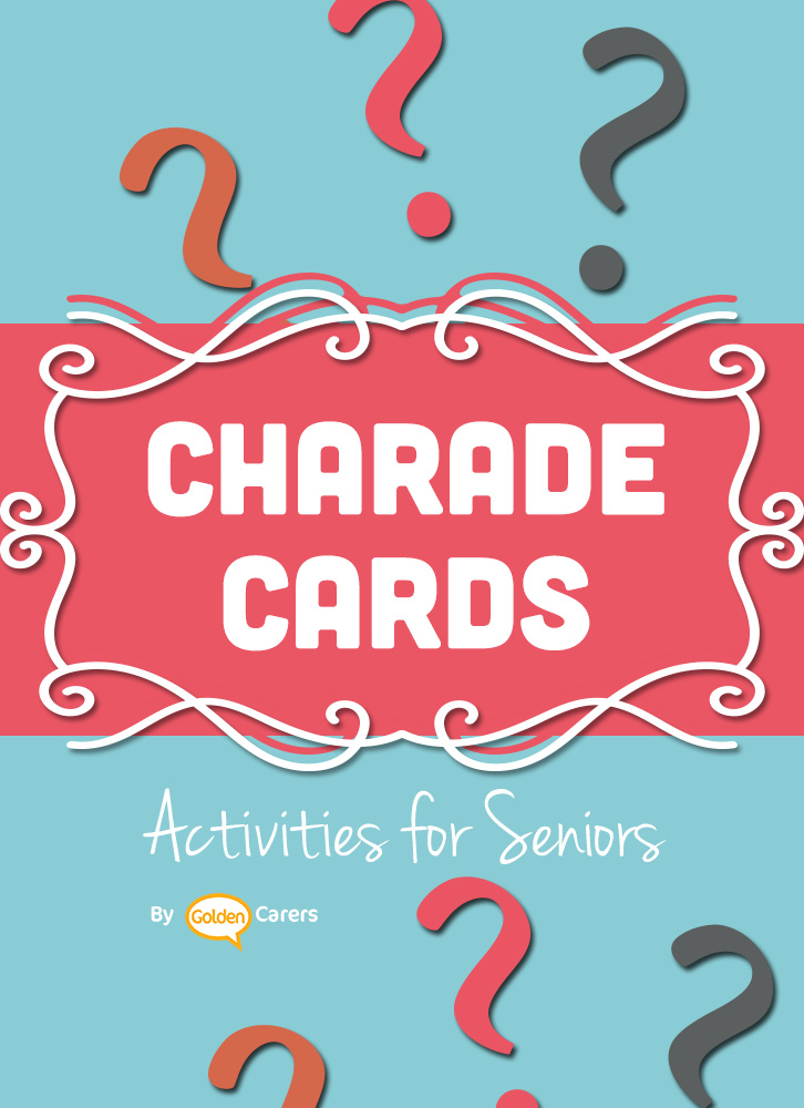 Charades is a game suitable for all ages! It involves acting out words or phrases printed on cards. A game of charades provides a wonderful two-way communication opportunity that can strengthen interpersonal skills. It is also a great work-out for the brain!