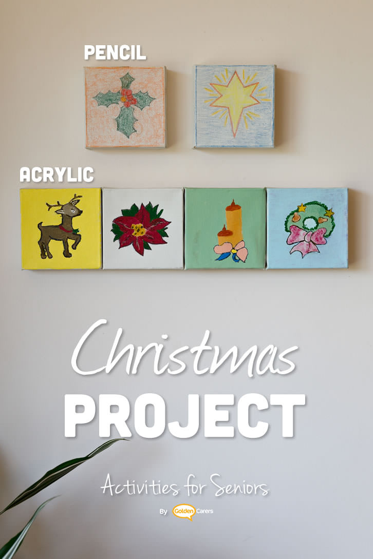Group art projects are a engaging activity for seniors in nursing homes. Creative group projects should have a theme; each client draws a picture (theme example: Christmas), and the final work is displayed as a group work of art.