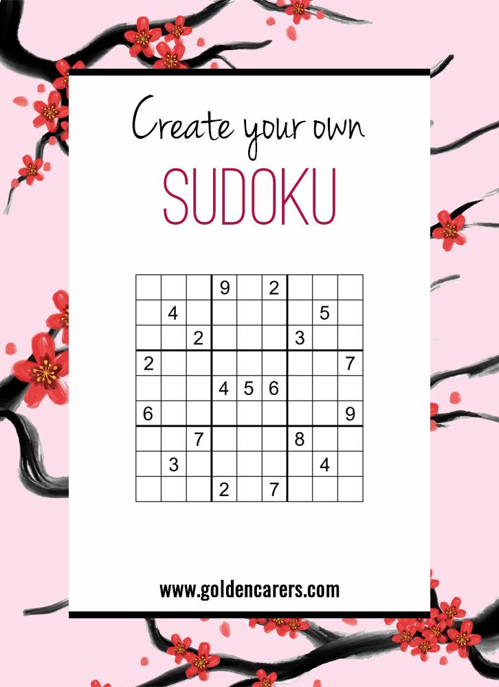 Create Your Own Sudoku!