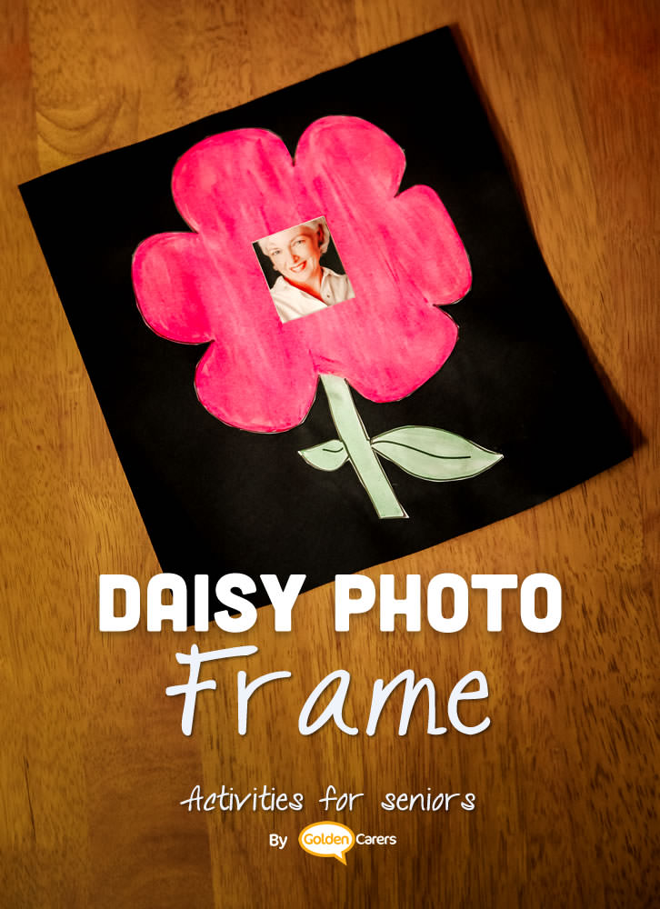 Celebrate Mother's Day with beautiful floral decorations with photo centerpieces!