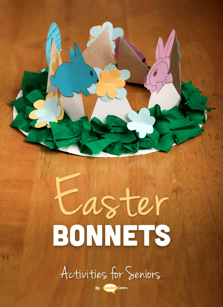 Here are a couple of easy Easter bonnets for your parade! I have included some templates for the decorations but let your clients express their artistic flair by encouraging them to decorate as they please.