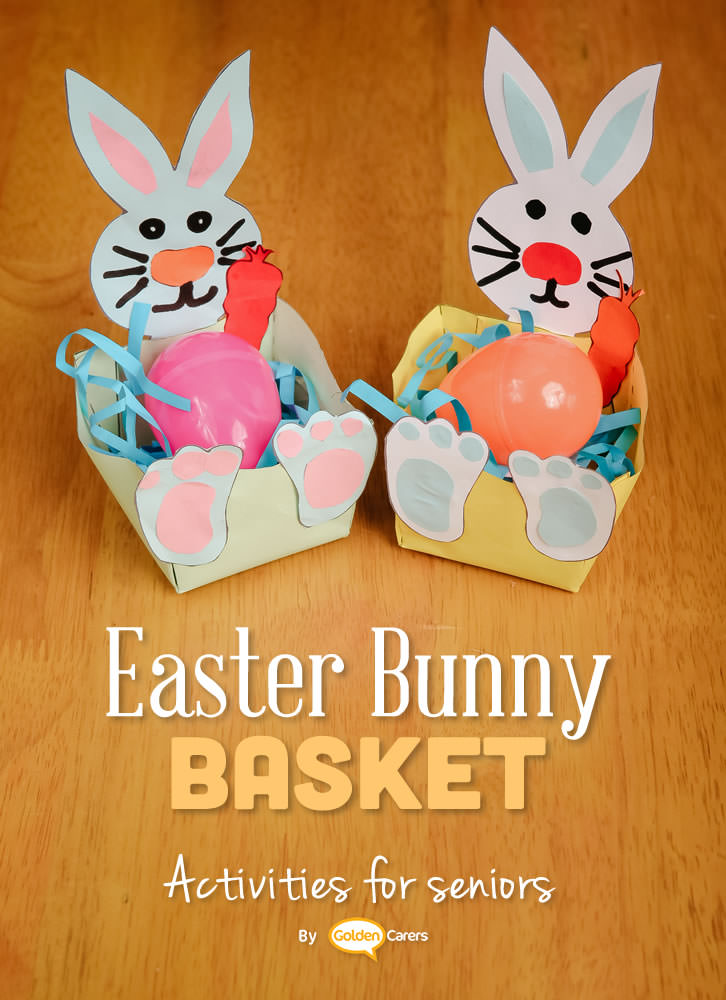 easter craft ideas preschoolers easter bunny baskets 4310