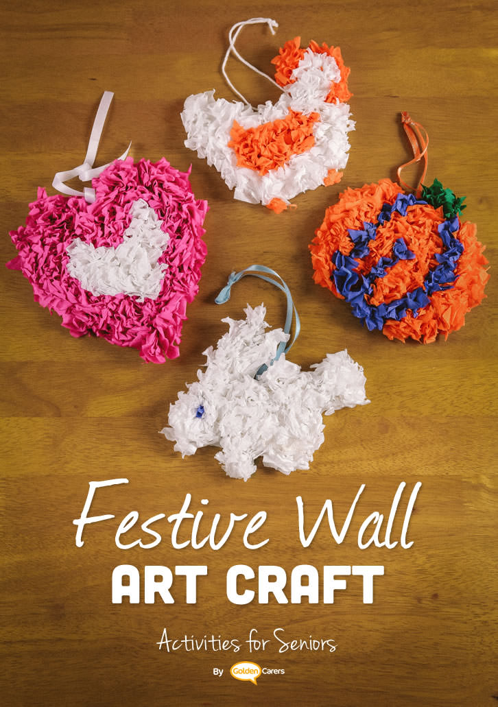 Lovely wall art for all occasions! Video instructions included.