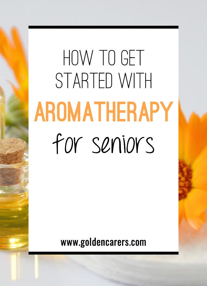 The basics of aromatherapy for the elderly: what you will need, recommend use and sample recipes.