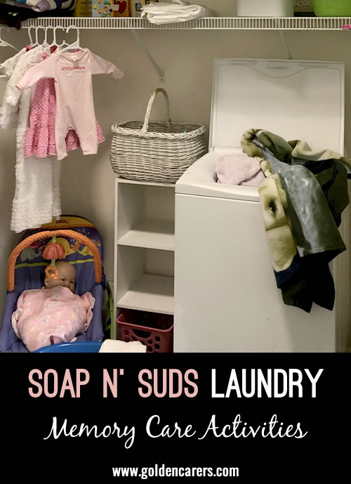 Soap n' Suds Laundry Activity