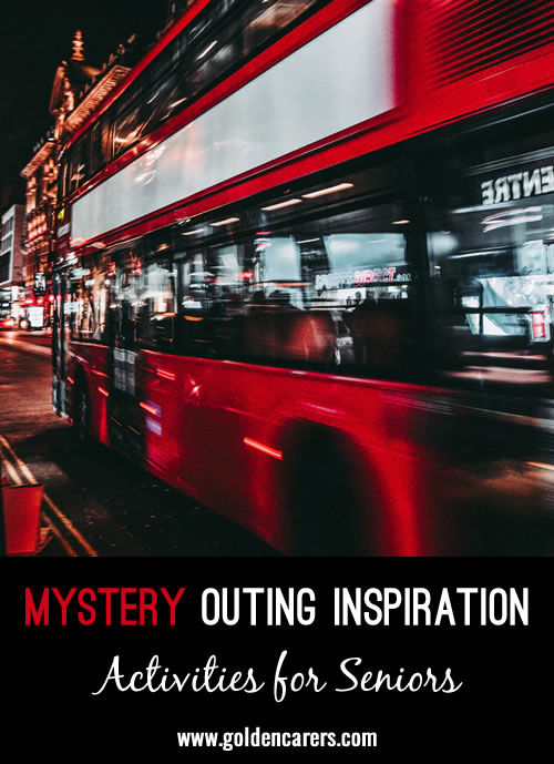 Mystery Outing Inspiration