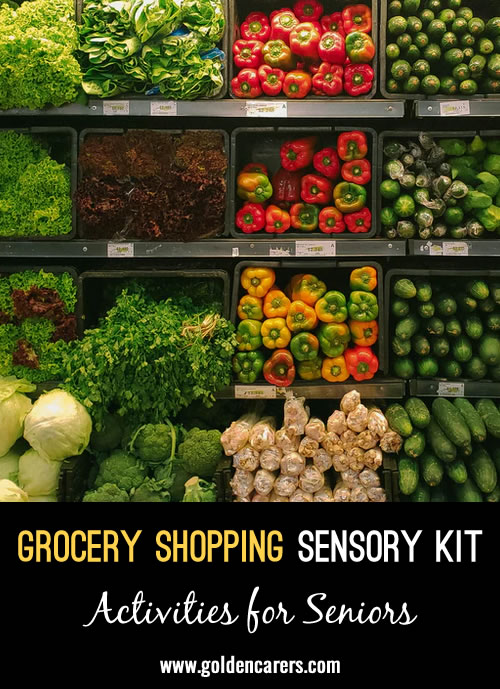 When you pull together a sensory kit or experience for residents, you don't always have to think of interesting themes like travel destinations or major life experiences.