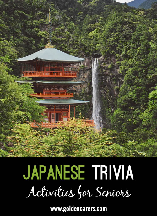 25 Snippets of Japanese Trivia