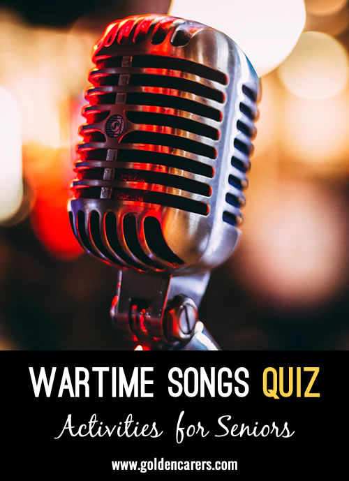 Wartime Song Quiz