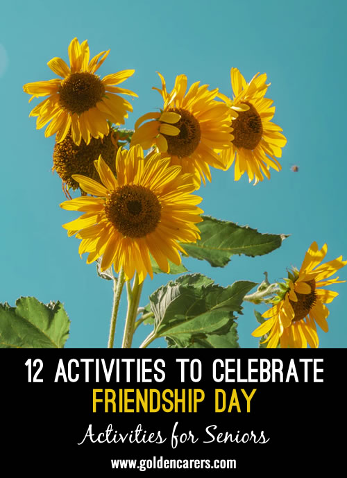 12 Activities to Celebrate Friendship Day