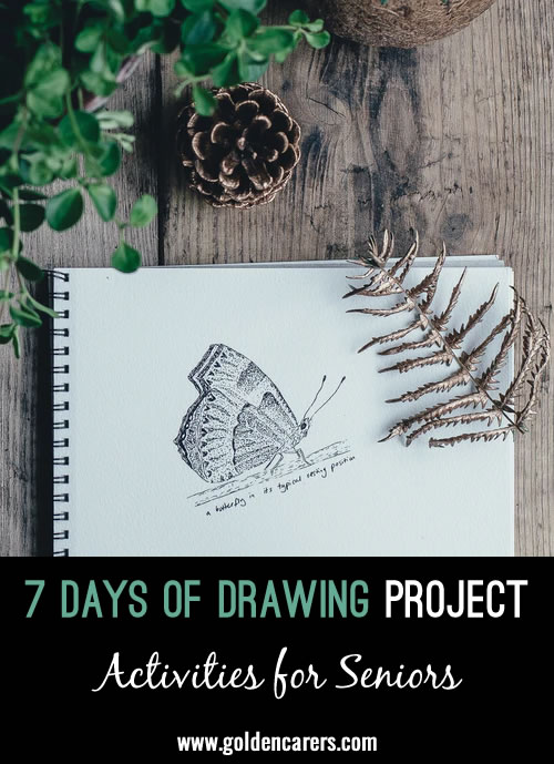 7-Days of Drawing Project