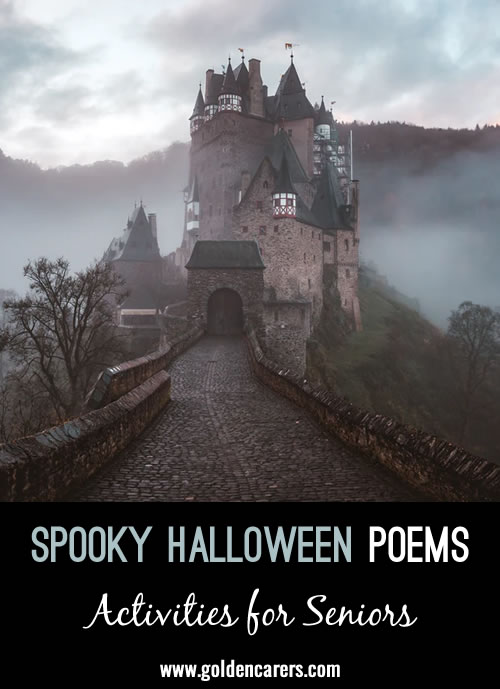 Here are some spooky poems to share on Halloween.