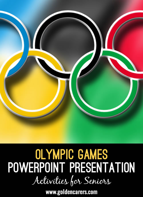 Here is a Olympic Games presentation to reminisce with!