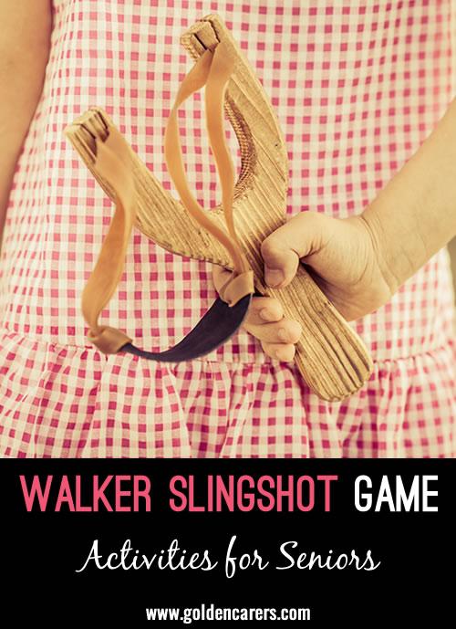 Walker Slingshot Game