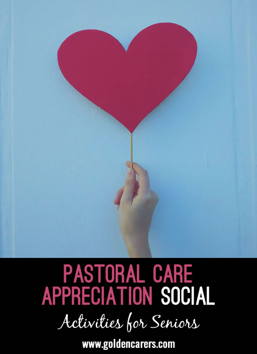 Pastoral Care Appreciation Social