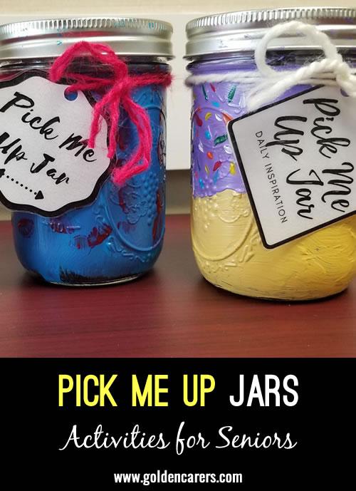Pick Me Up Jars