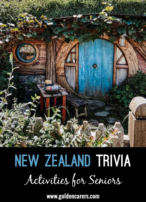 14 Snippets of New Zealand Trivia