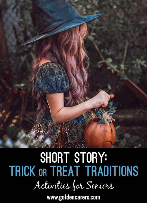 Short Story: Trick or Treat Traditions