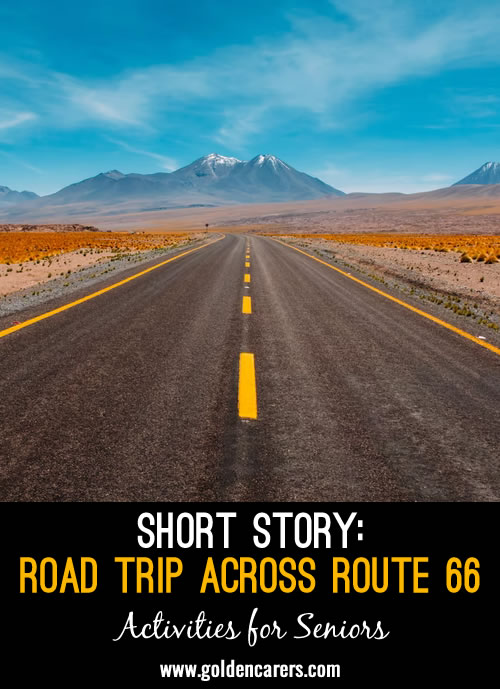 Have you ever heard of Route 66? Sometimes referred to as America's Main Street, Route 66 was one of the first major highways to crisscross the country as a part of the U.S. Highway system.