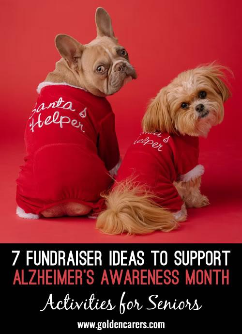 7 Fundraiser Ideas to Support Alzheimer's Awareness Month