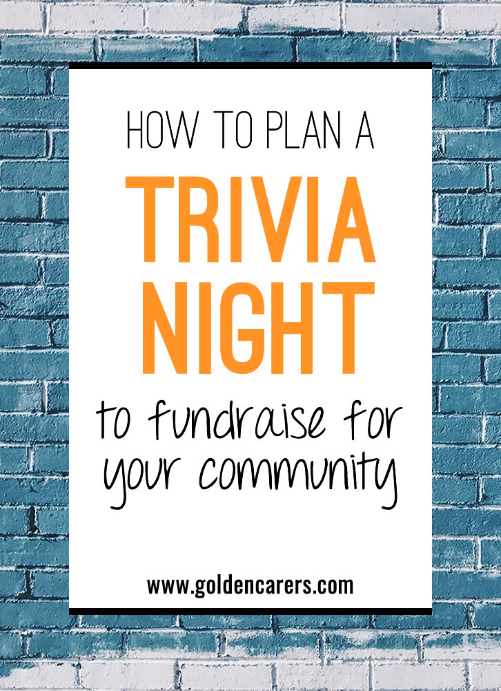 How to Plan a Trivia Night