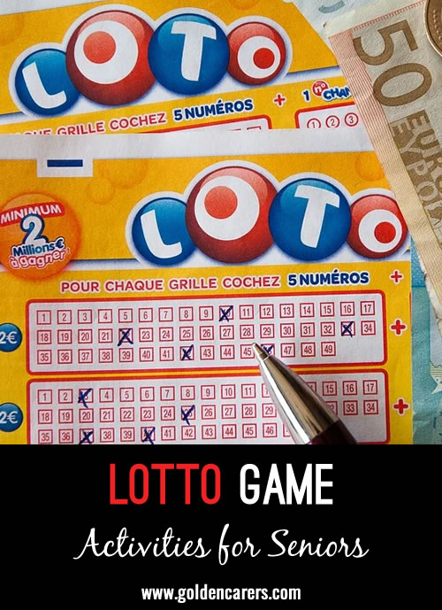 Here is a fun lotto game to enjoy!