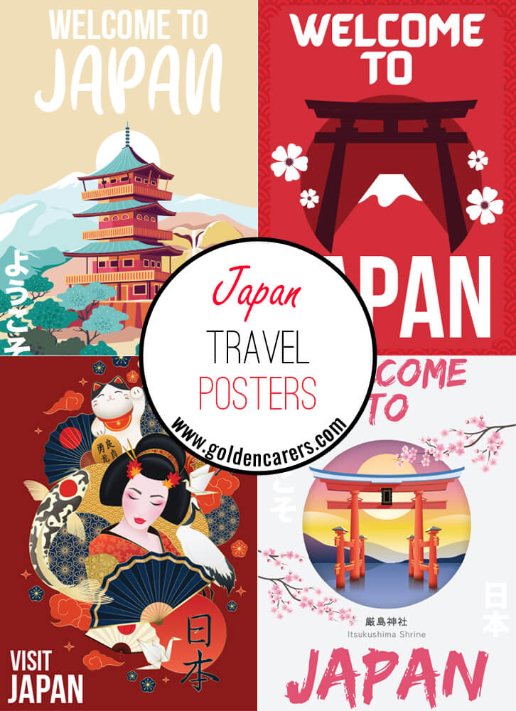 Japan Travel Posters
