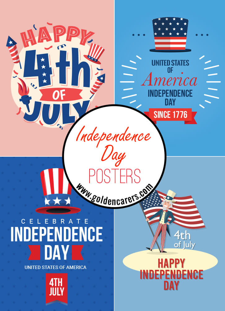 Fourth of July posters for decorating!