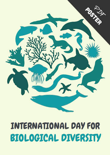 Printable Biological Diversity Poster