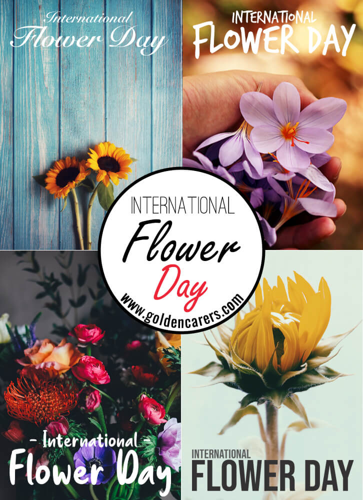 9 x International Flower Day posters!