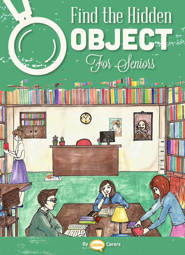 Find The Hidden Objects - Library