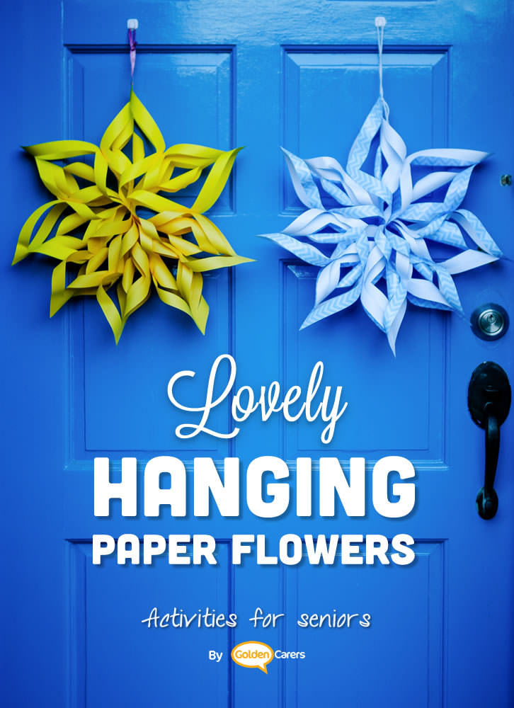 Easy paper flowers to decorate your facility on all occasions.