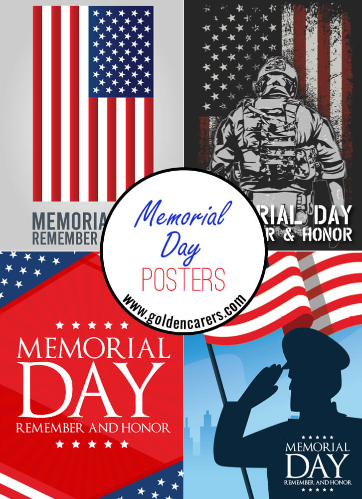 Posters to help celebrate Memorial Day!