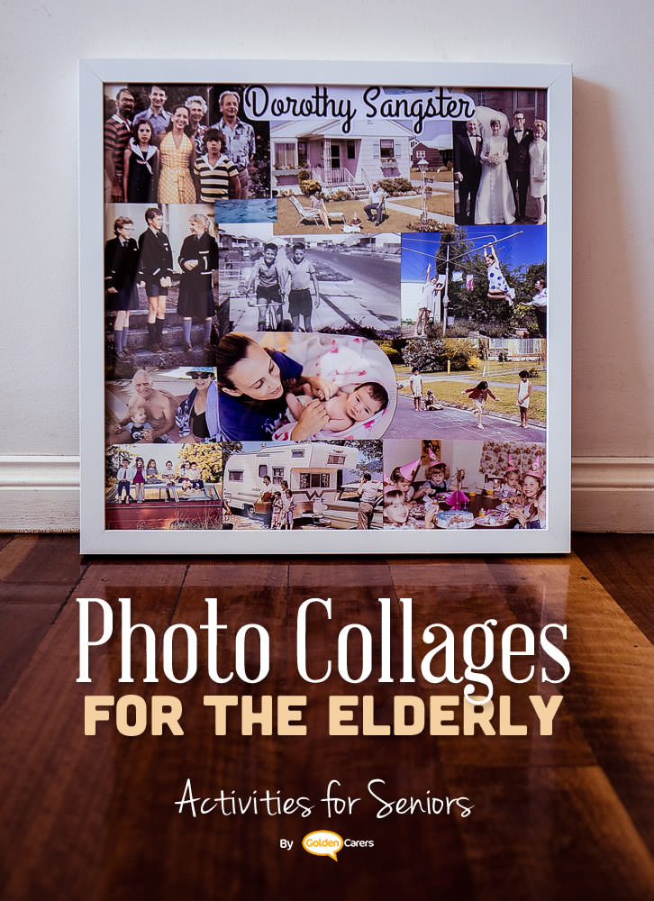 Collages are part of the expressive arts activities known for their therapeutic benefits. The can make a significant impact on clients living with memory loss.