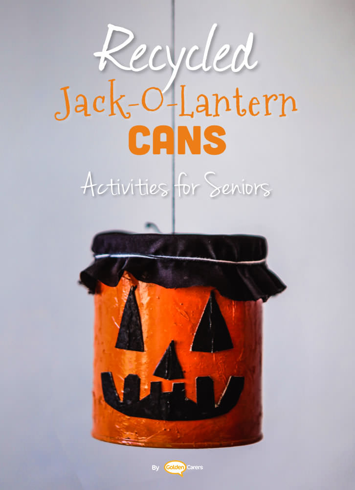Here is a craft activity for Halloween using recyclable materials.