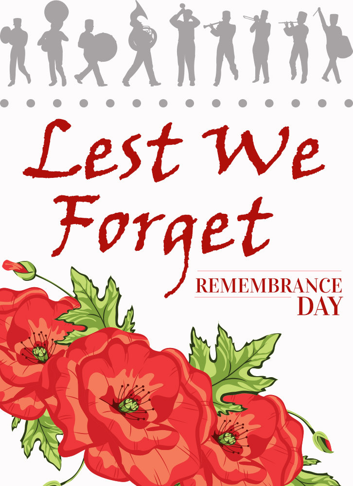 Remembrance Day Poster for Printing
