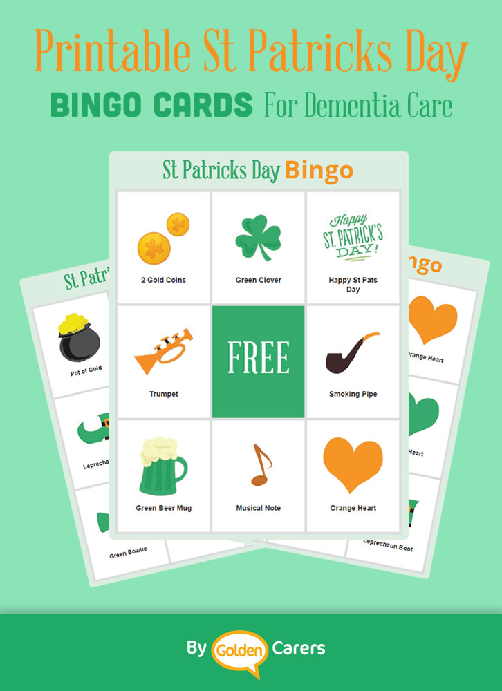 A St Patricks Day Day themed Bingo for Dementia!