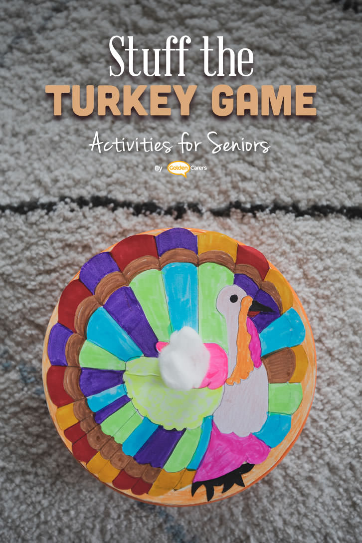 This is a great intergenerational game! Race to stuff turkeys -  the heaviest turkey wins!