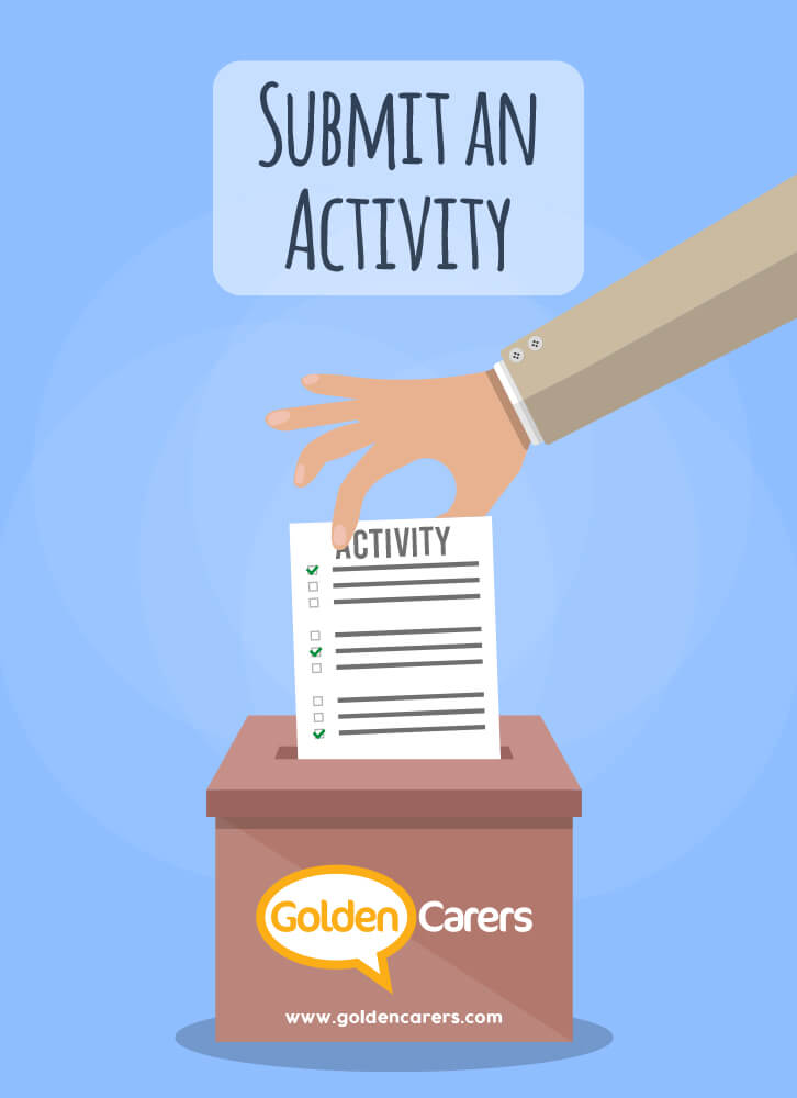 Share your activities with the Golden Carers community!