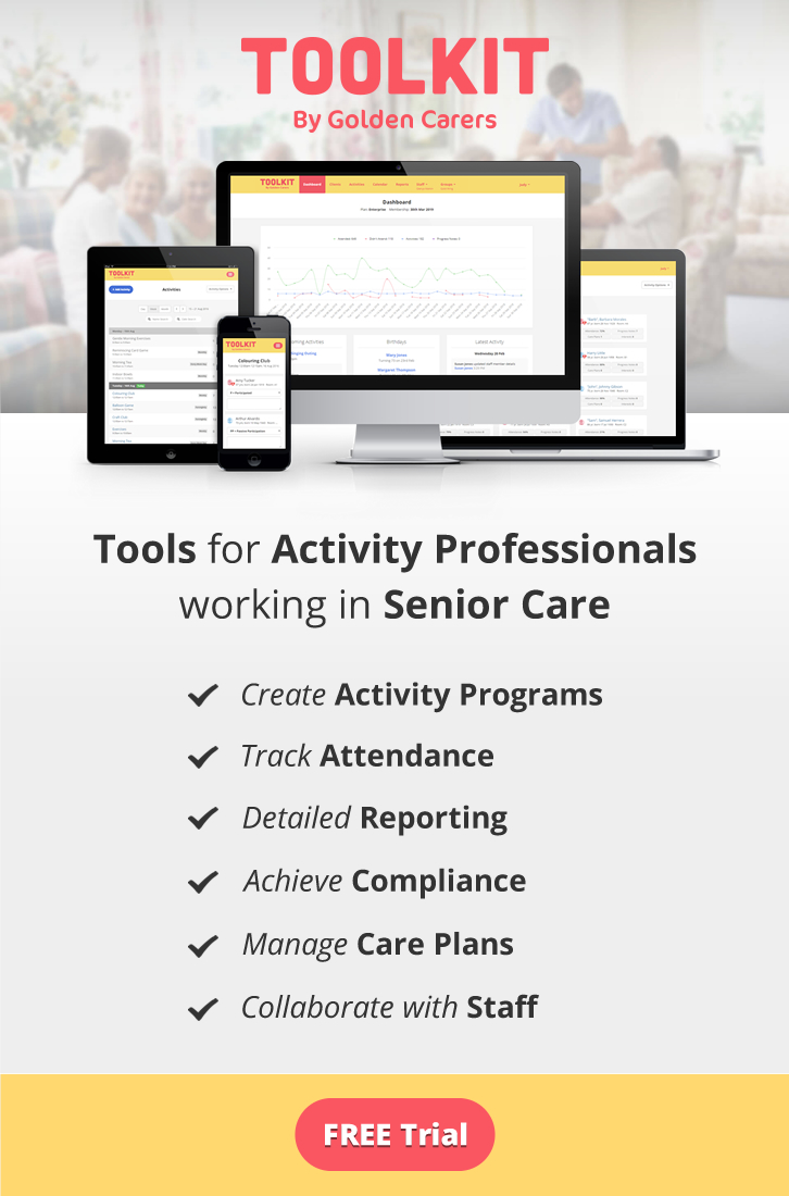 Reporting Tools for Activity Coordinators working in nursing homes and senior care facilities! Reporting can be a stressful and time-consuming part of the job and it needn't be. Ease your work burden now!