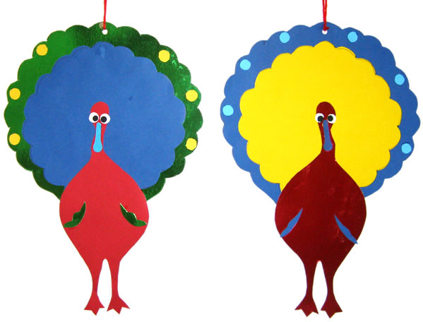 Brighten up your space with some lovely thanksgiving decorations you can make during craft sessions!