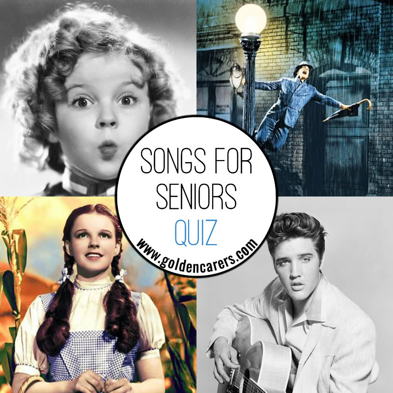 Songs for Seniors Quiz