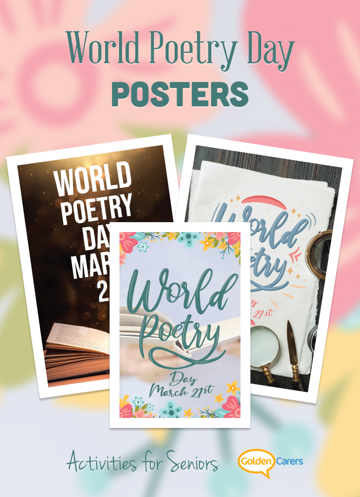 World Poetry Day Posters