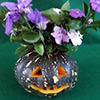 Halloween Pumpkin Holder or Vase