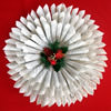 Recycled Book Pages Christmas Wreath