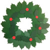 Holly Leaves Christmas Wreaths