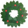 Holly Leaves Christmas Wreaths