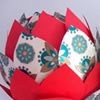 Paper Petals Christmas Ornament